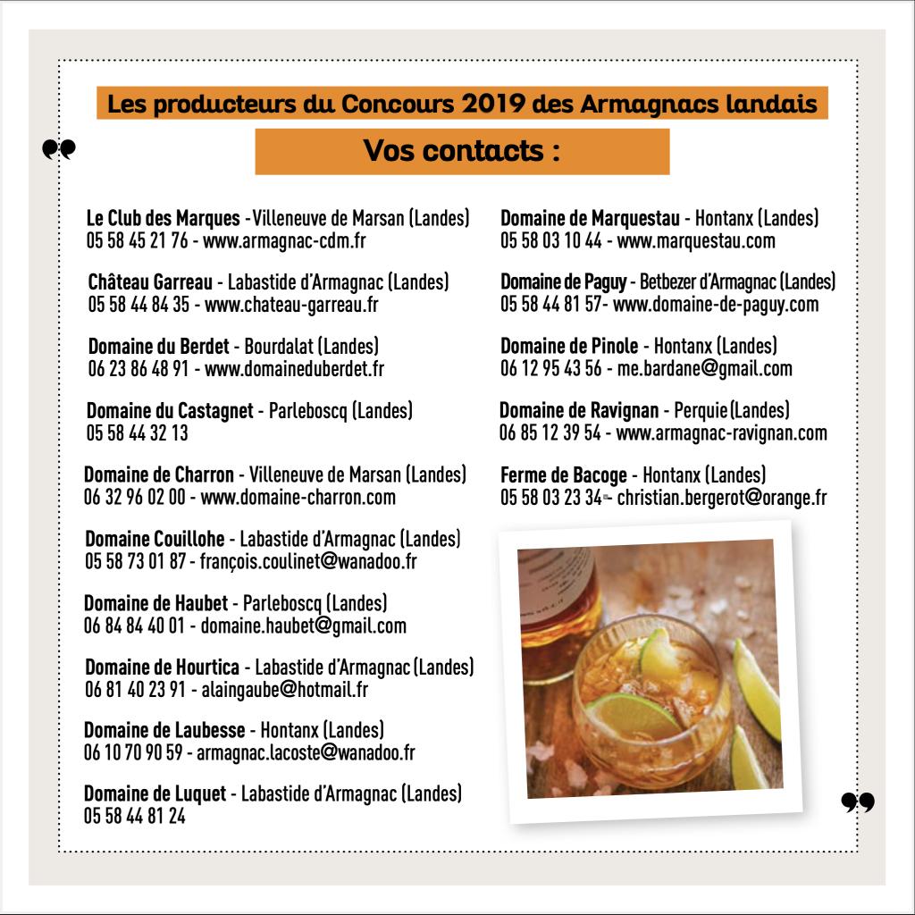 Les producteurs d'Armagnac