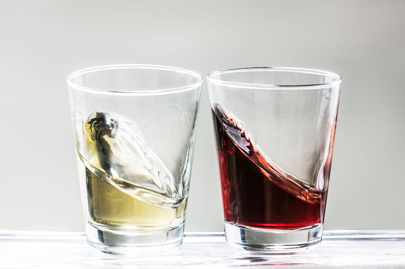 Floc-de-Gascogne blanc et Floc-de-Gascogne rouge